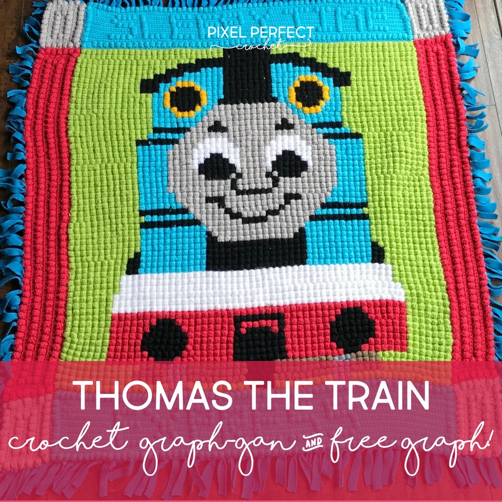 Thomas the Train Crochet | graphs | Pinterest