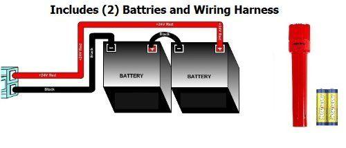 Replacement Batteries And Wiring Harness For Razor E100 Chain Drive Models Versions 10 Razor E175 Razor E150 Razo Bright Flashlight Chain Drive Ride Ons