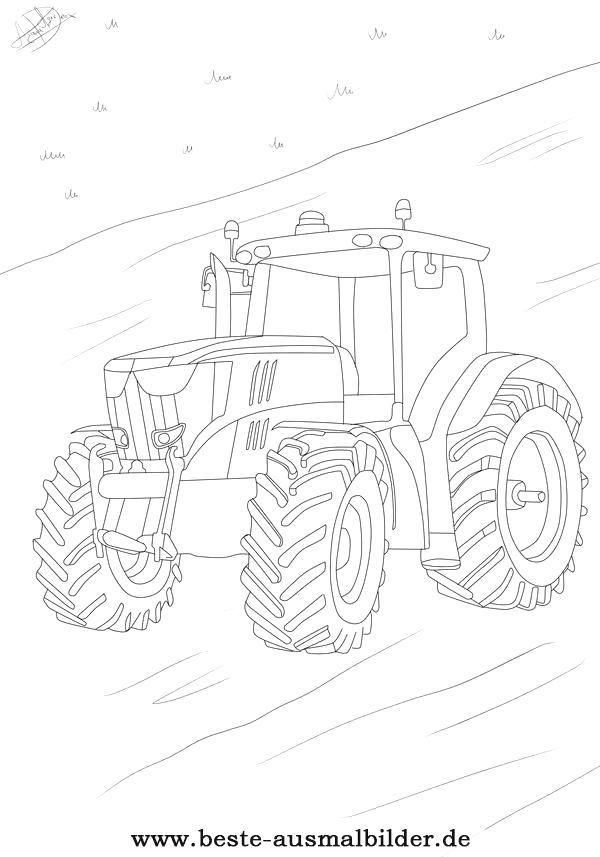 malvorlagen traktor youtube  aiquruguay