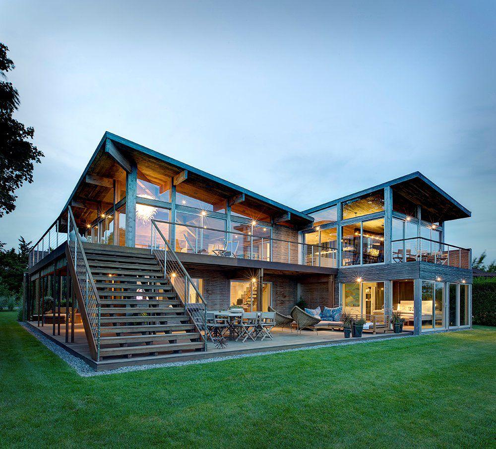 1970s oceanview kit house upgraded to elegant family home
