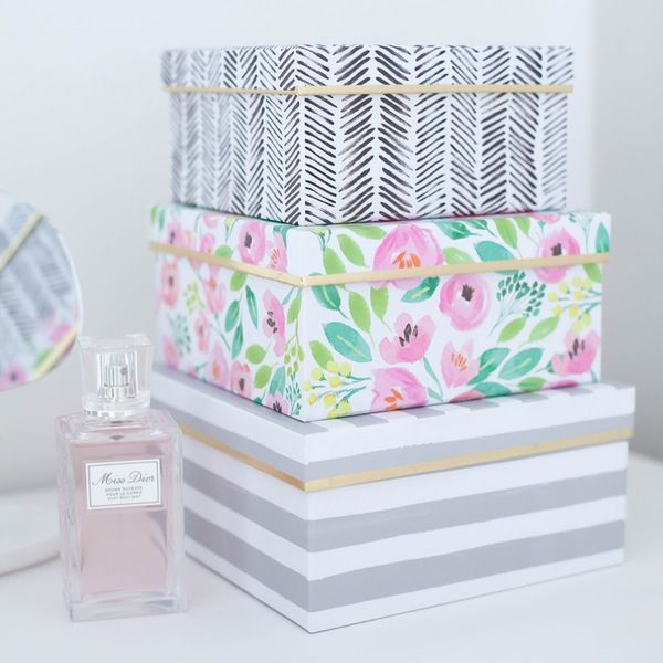 Merveilleux TREASURE THE LITTLE THINGS | Set 3 Storage Boxes | Tri Coastal Design Europe