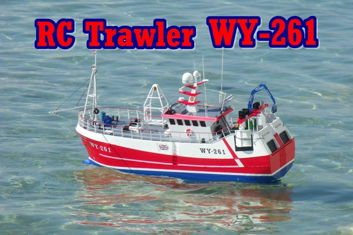CVP - Photo Video Series No3 - Rc Trawler Fishing Boat WY-261