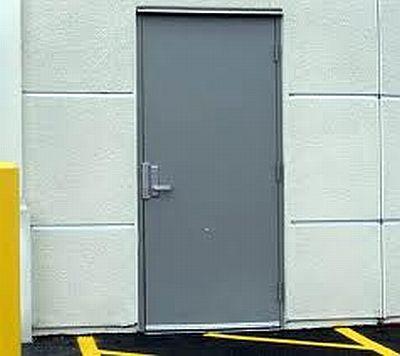 Commercial Exterior Door commercial steel doors in nh & ma - northlite glass & mirror