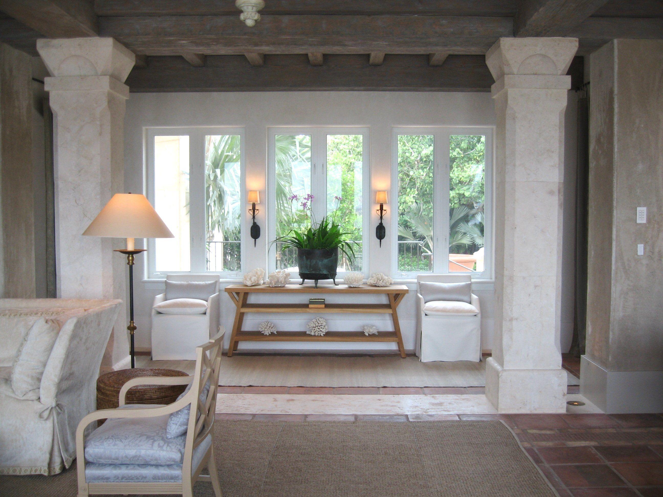 Living room in boca raton fl by saladino group inc