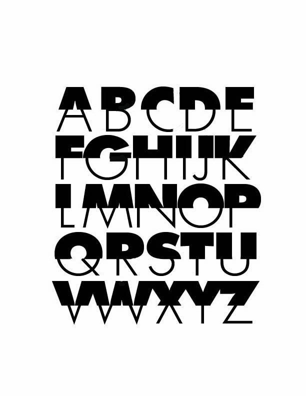 Alphabet No  82 Futura Extra Bold & Light Alphabet   Alphabets