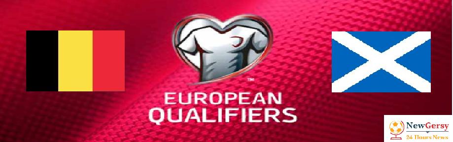 Belgium 30 Scotland Live stream Euro Qualifiers 2020