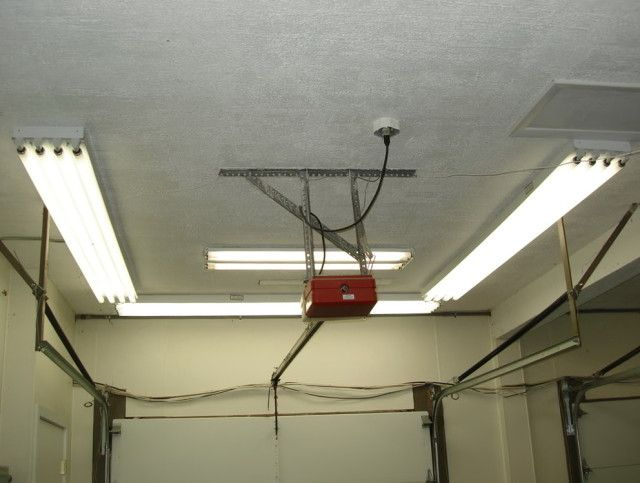 Superb Garage Lighting Ideas   When You Think Of Household Garages, You Donu0027t Think