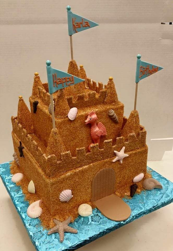 An Amazing Sand Castle Birthday Cake Made By Our Bakery Wilson