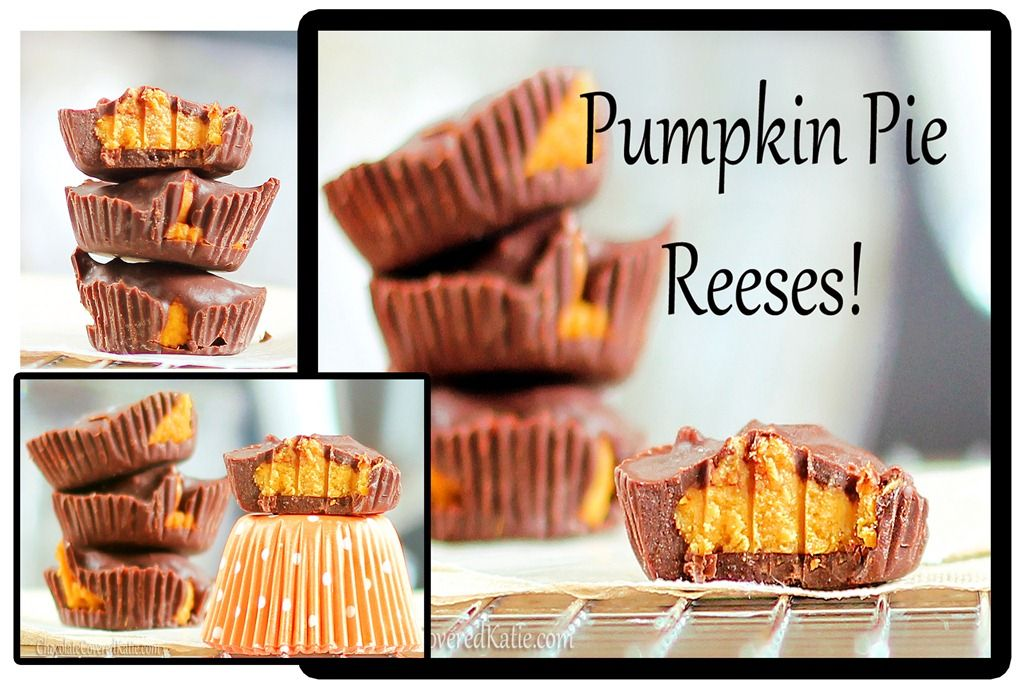 Pumpkin Pie Reeses Peanut Butter Cups. This were so good ...
