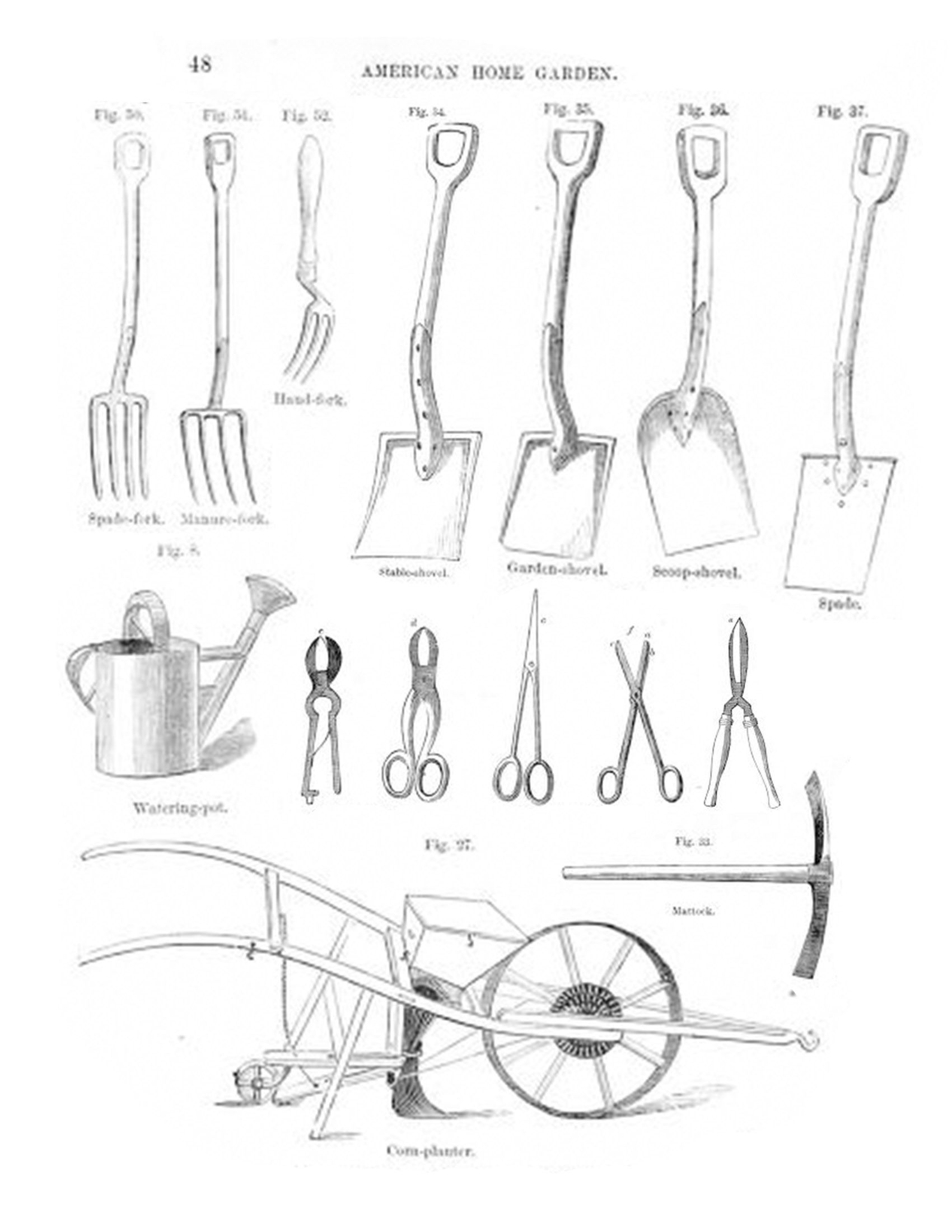 Antique Tool Kit A
