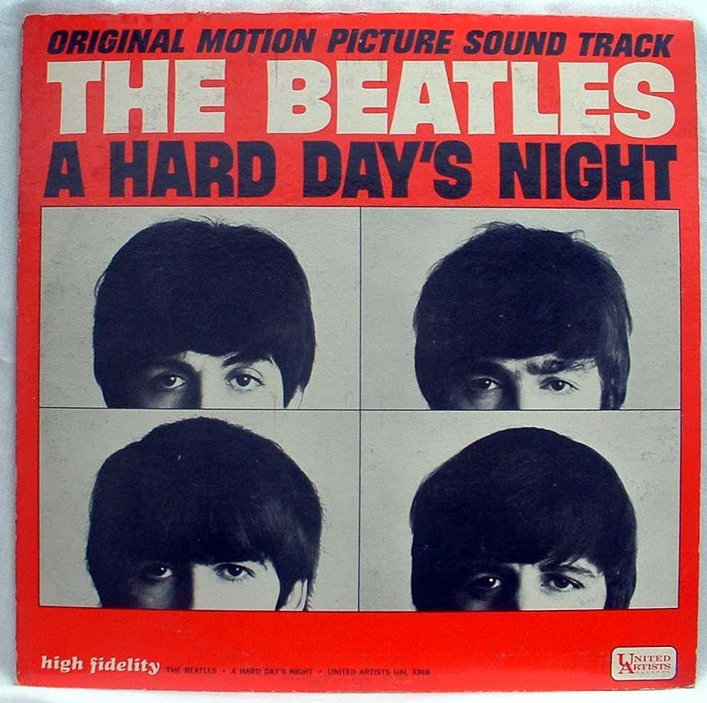 Beatles Hard Days Night Record Art