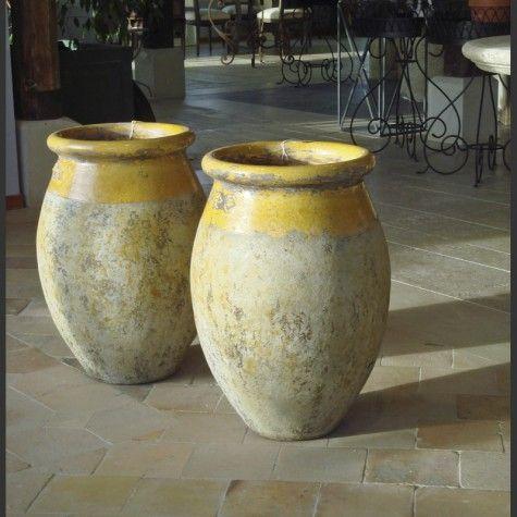 "jarre - vase ""olive"" terre cuite | jarre en terre cuite | pinterest"