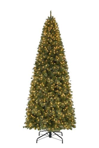 266 Enchanted Forest 10 Prelit Vermont Cashmere Quick Set Pine Artificial Christmas Tree Fir Christmas Tree Christmas Tree Clear Lights Pine Christmas Tree