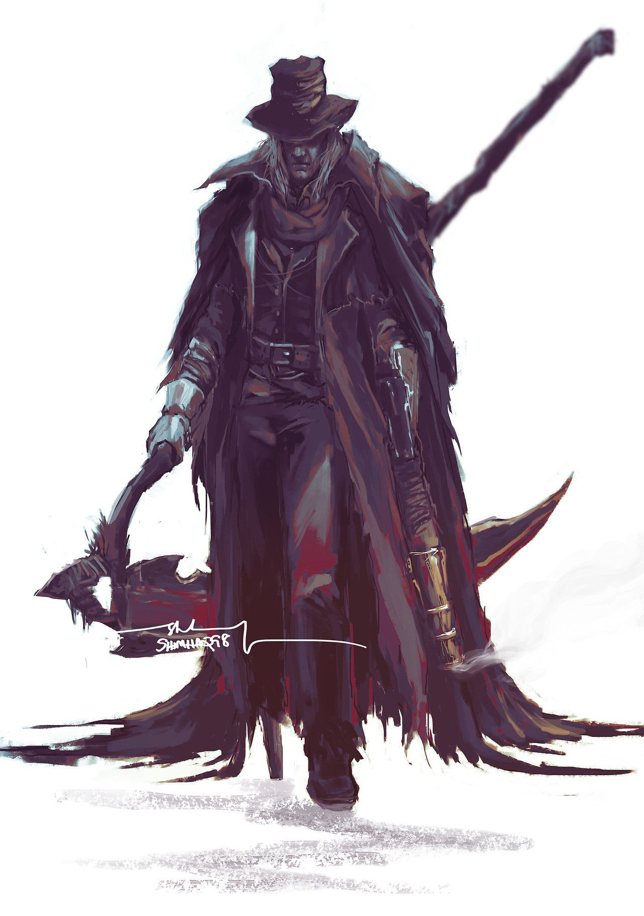 Image Result For Gehrman The First Hunter Lore