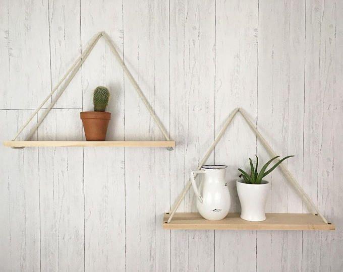 Hanging Planter, Planter, Rope Shelf, Wall Planter, Hanging Shelf