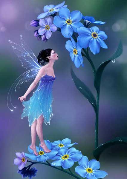 Картинки фей, красивые рисунки и иллюстрации с феями в ...