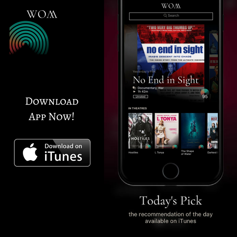 Frustrated by watching boring movies? Download Wom movie