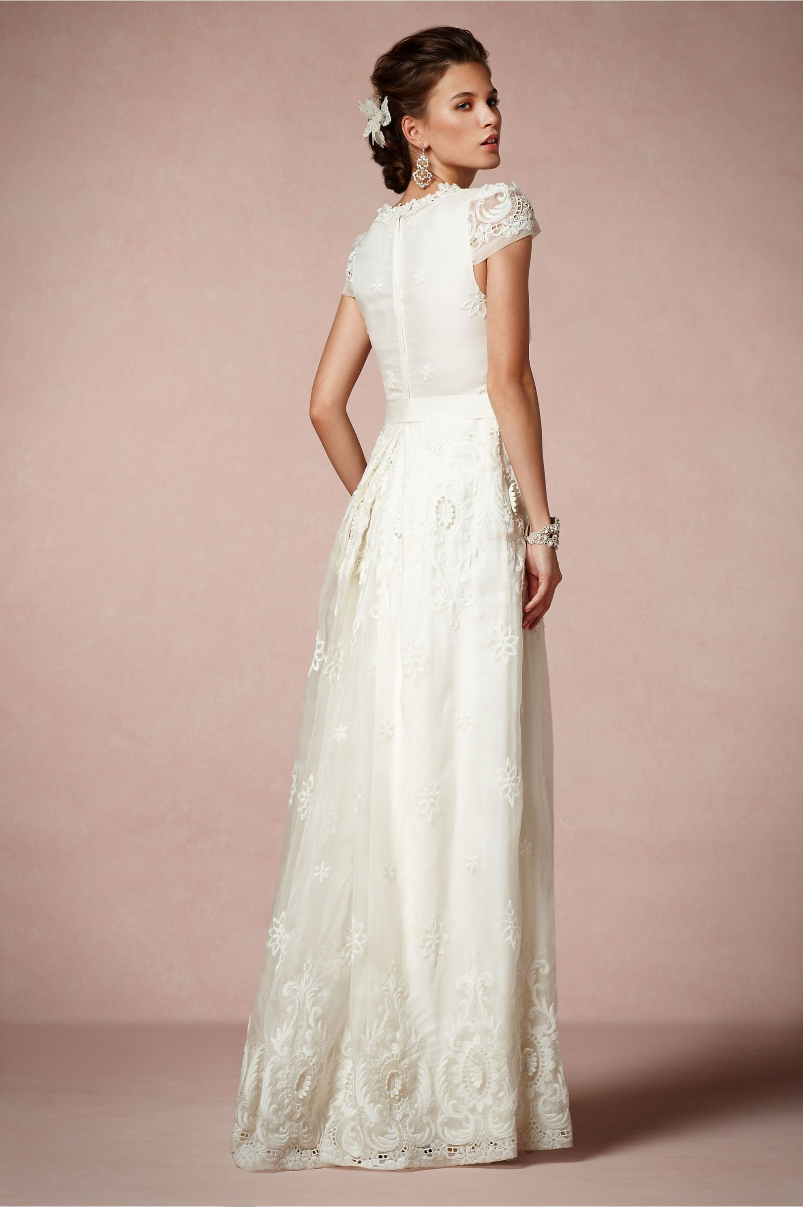 Rococo Gown in Bride Wedding Dresses at BHLDN   Hitched   Pinterest ...