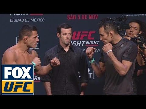 UFC Weigh-In: Rafael Dos Anjos vs. Tony Ferguson | Fight Night ...