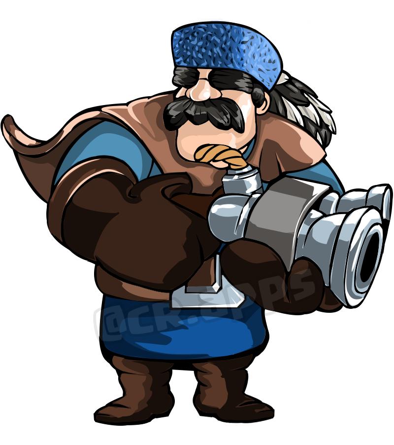 Hunter Clash Royale Clashroyale Hunter Clas Royal Clash Royale