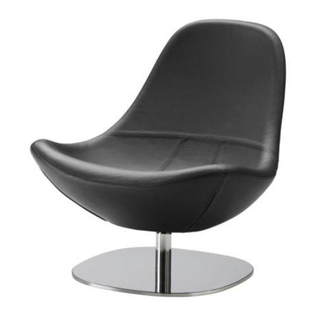 Schön Ikea Tirup Leather Swivel Chair