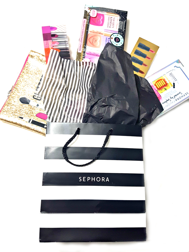 Giving Back An International Sephora Gift Bag Giveaway Worth Over 160