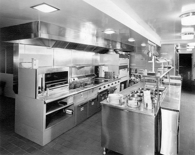 wonderful Hotels With Kitchens In Portland Oregon #12: Waldorf Hotel kitchen -basement level | Hotel u0026amp; Restaurant Kitchens | Pinterest | The world, World and The beauty