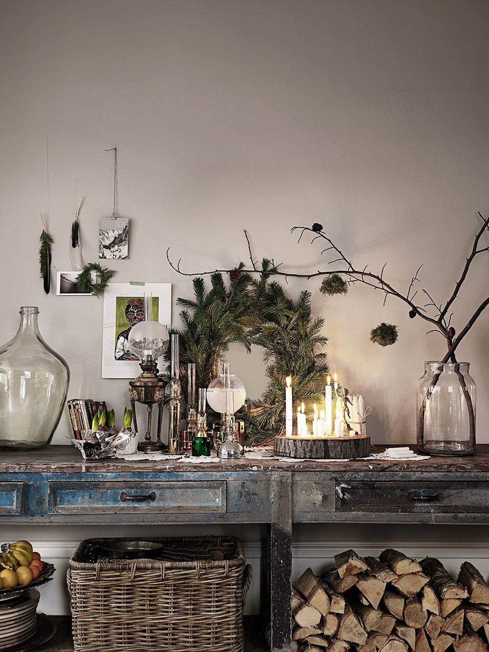 Elle Decoration Weihnachten Styling Malin Persson Photo Petra Bindel For Elle Decoration