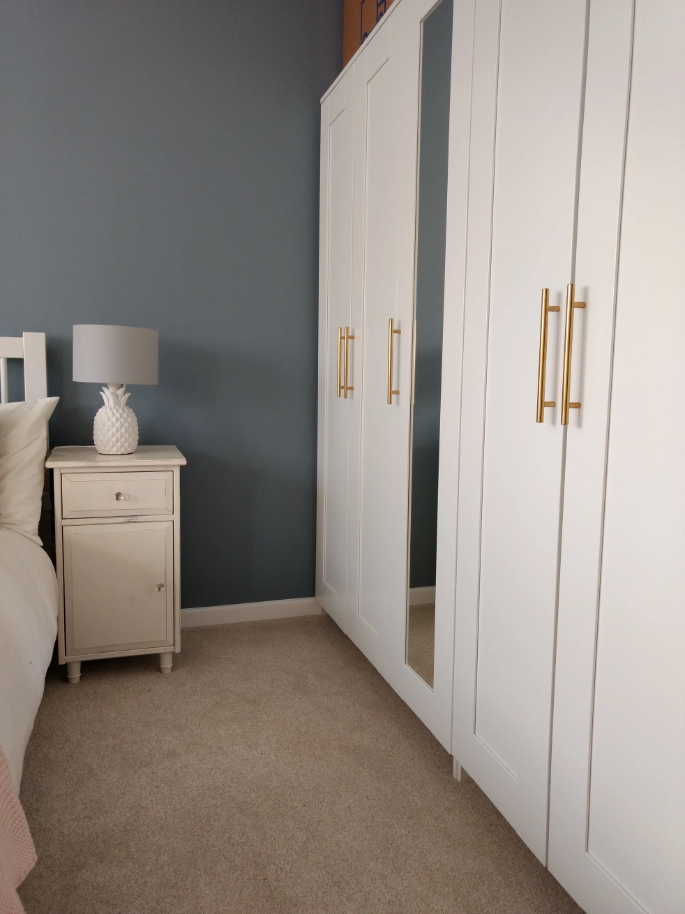 Room Reveal: Masterbed and an awesome Ikea hack to luxe things up a bit