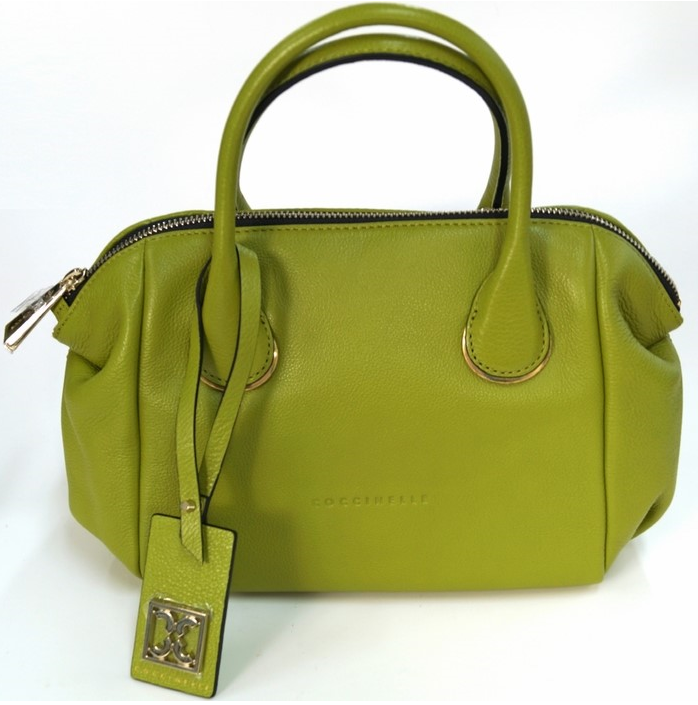 Coccinelle Olive Green Tote Bag 코치넬리 토트백 크로스백 크로스백 럭셔리