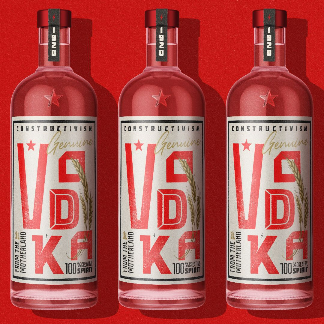 Decade 1920 In 2020 Creative Packaging Design Drinks Packaging Design Vodka Packaging