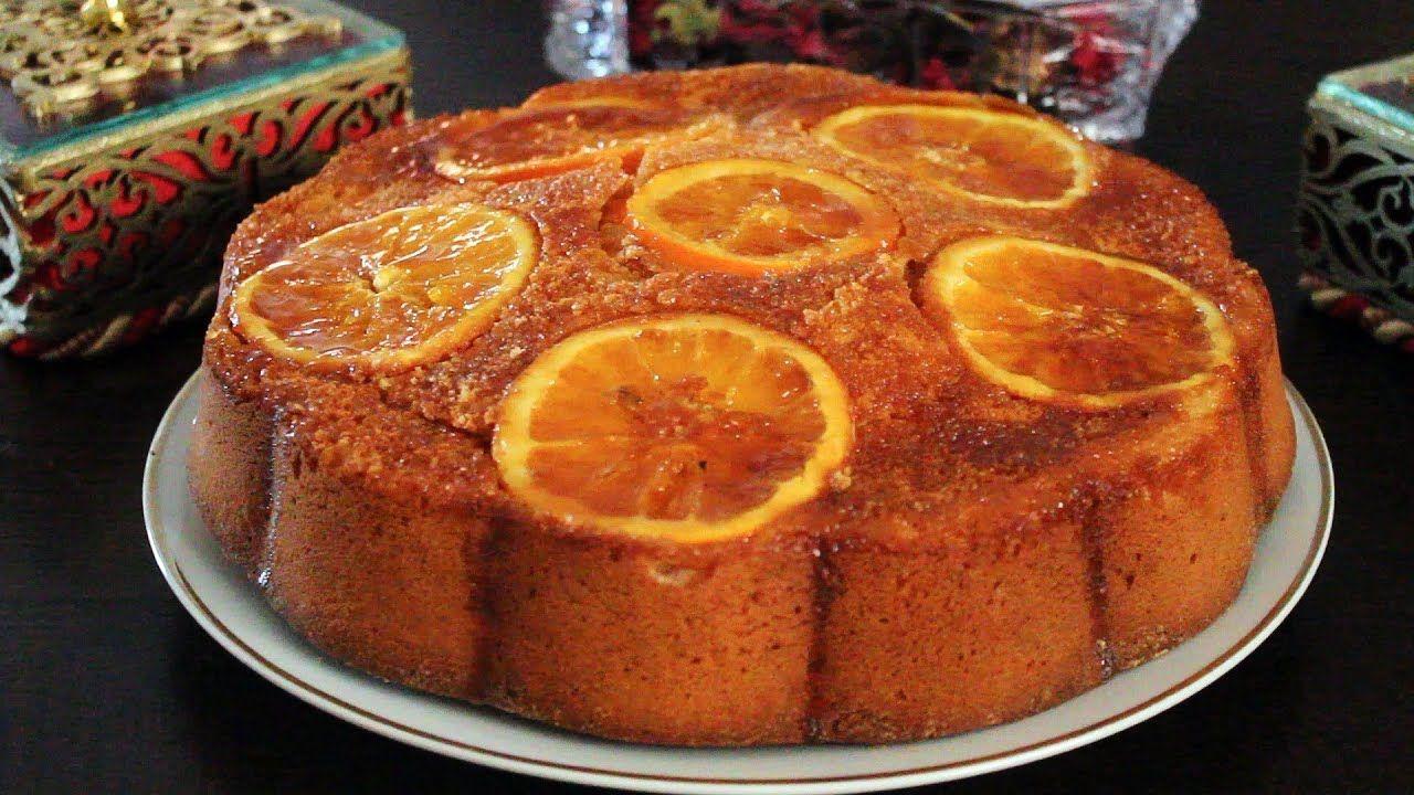 حليمة الفيلالي تقدم كيكة بشرائح وعصير البرتقال Desserts Food Breakfast