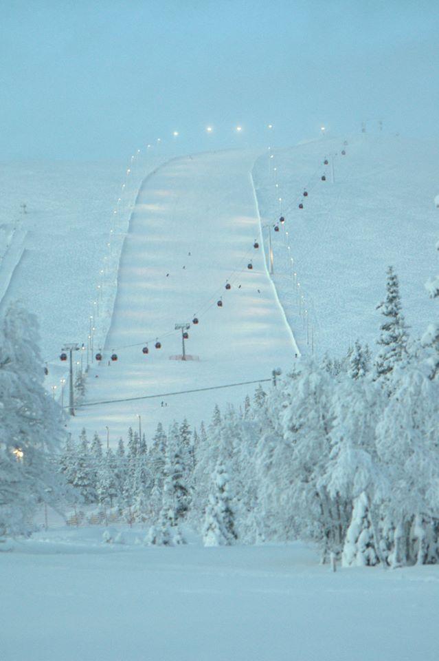 Äkäslompolo, Lappi, Finland. Photo by my pikku serkku Anu. Kiitos!