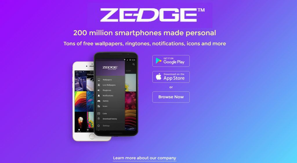 Zedge - Wallpaper Ringtones and Themes | Tech | Free,roid