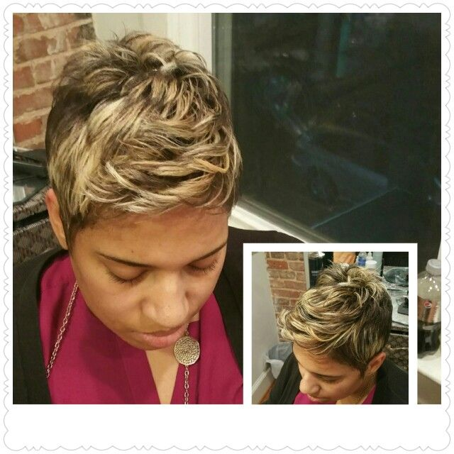 Colored,cut & styled by Tara for Monique-Nicole Hair Studio. .Washington DC