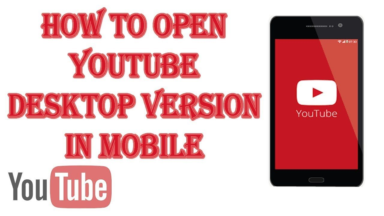 How To Open Youtube in Desktop Mode For Android Bangla