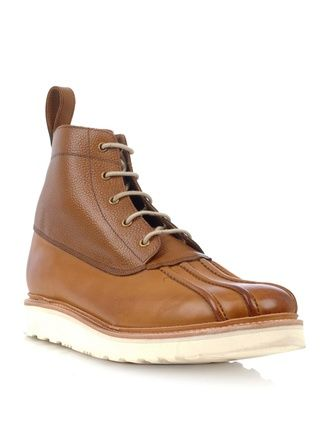fa2da85051e2 Spike lace-up boots av Grenson