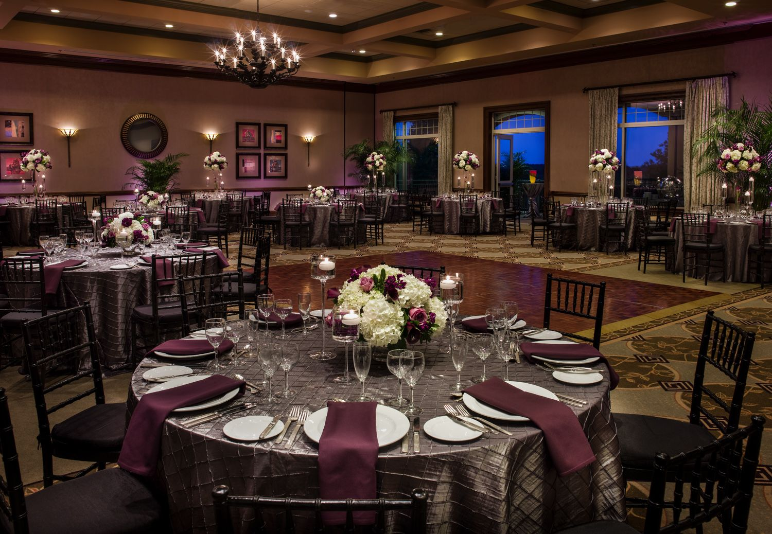 Wedding Reception At Lansdowne Resort S Clubhouse Ballroom