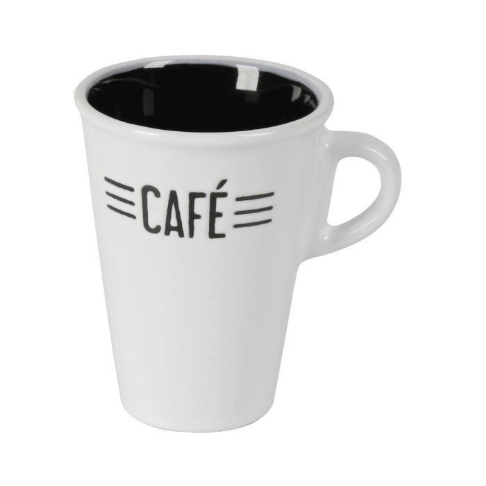Tasse en céramique CAFE CREME 0,13L blanc #ceramiccafe