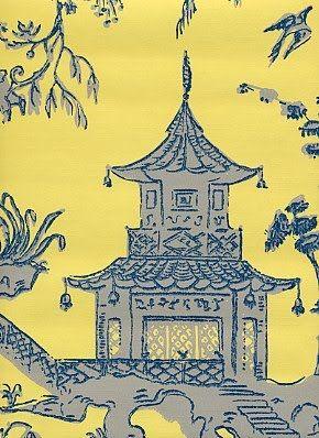 Chinoiserie Wallpaper On EBay
