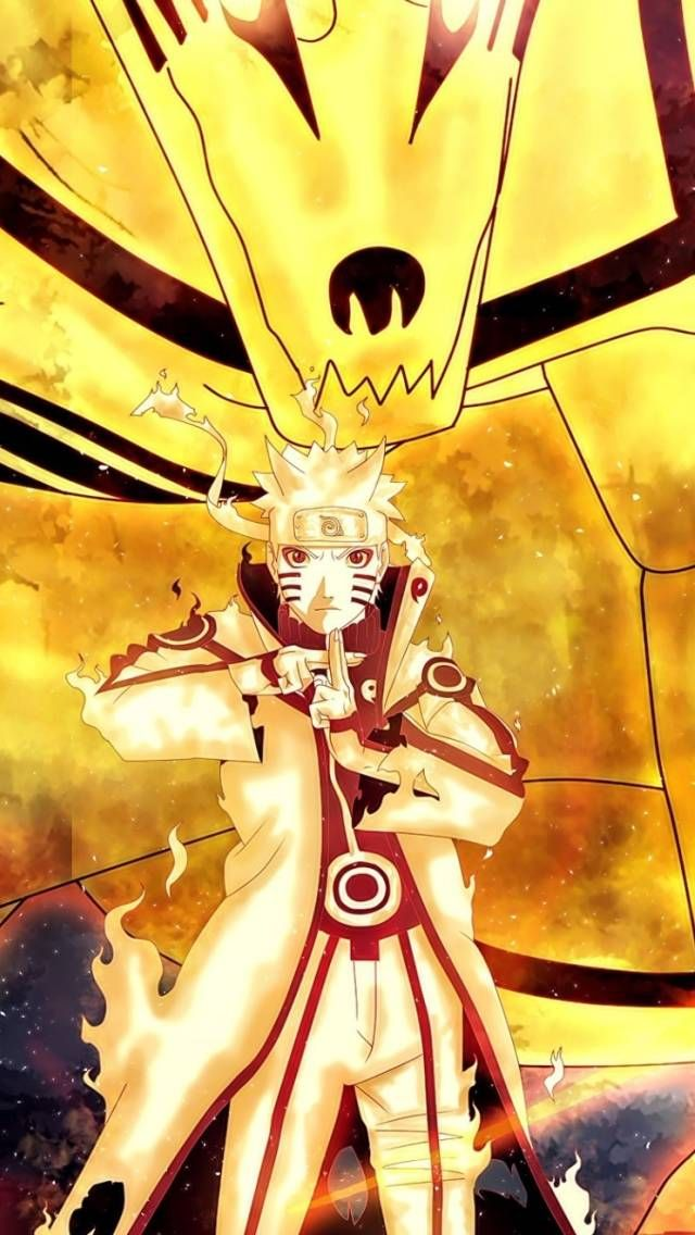 Uzumaki Naruto Kyuubi With Images Android Wallpaper Android