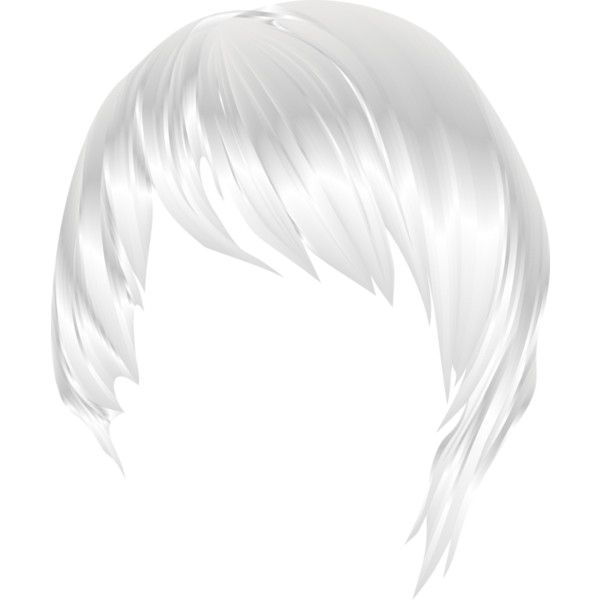 Hair Style 20 Png Liked On Polyvore Featuring Hair Wigs Doll Hair Dolls And White Hair Doll Hair Hair Styles Doll Parts