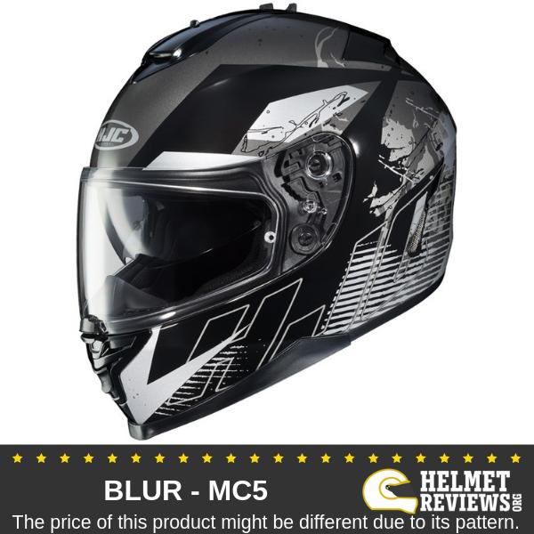 HJC IS-17 Blur Graphic Full Face Helmets