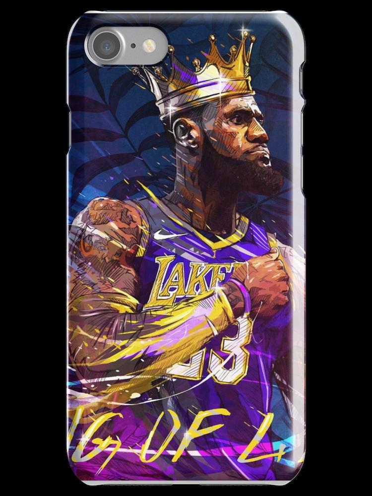 Sticker Fleurs Danny Avidan Carnet Cartonne Lebron James Lakers Nba Lebron James King Lebron James