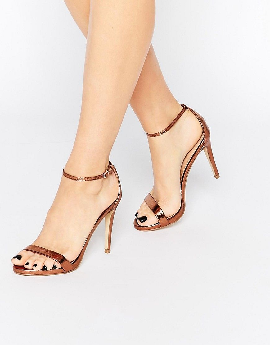 Steve Madden Stecy Sandal Or et bronze