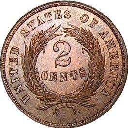 An 1864 U S 2 Cent Piece Photo Is Public Domain Coins Custom Coins Coin Worth