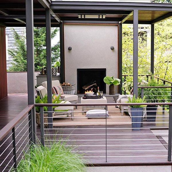20+ Creative Deck Railing Ideas for Inspiration Deck