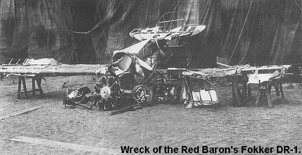 Image result for the red baron is shot down and killed during wwii
