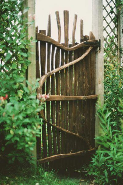 TOP 10 DIY Garden Gates Ideas Puertas de jardín, Jardín y Puertas