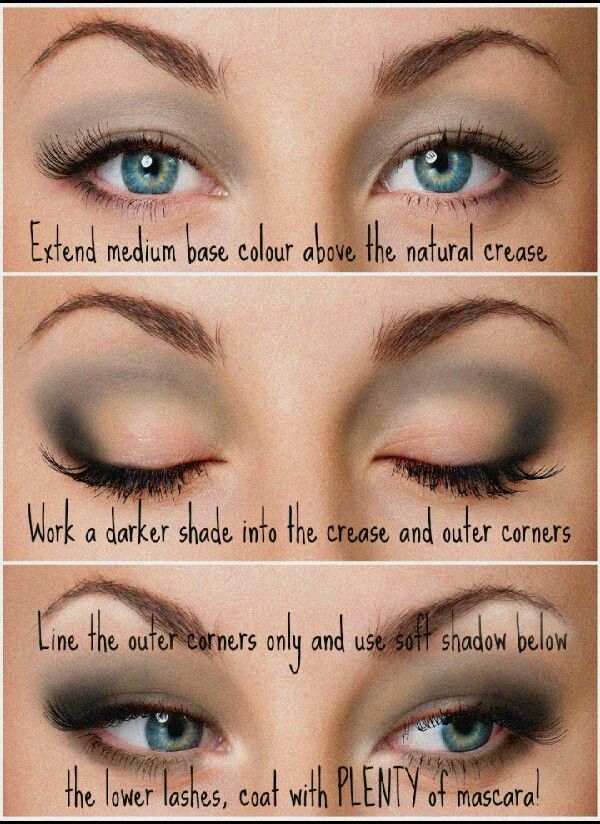 Eyeshadow Techniques For Hooded Eyes Did You Know Smokey Application